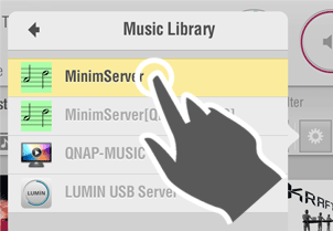 LUMIN App layout