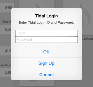 Tidal login to LUMIN