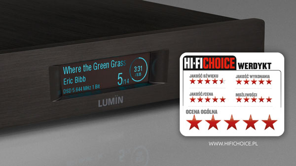 Hi-Fi Choice LUMIN D2 review