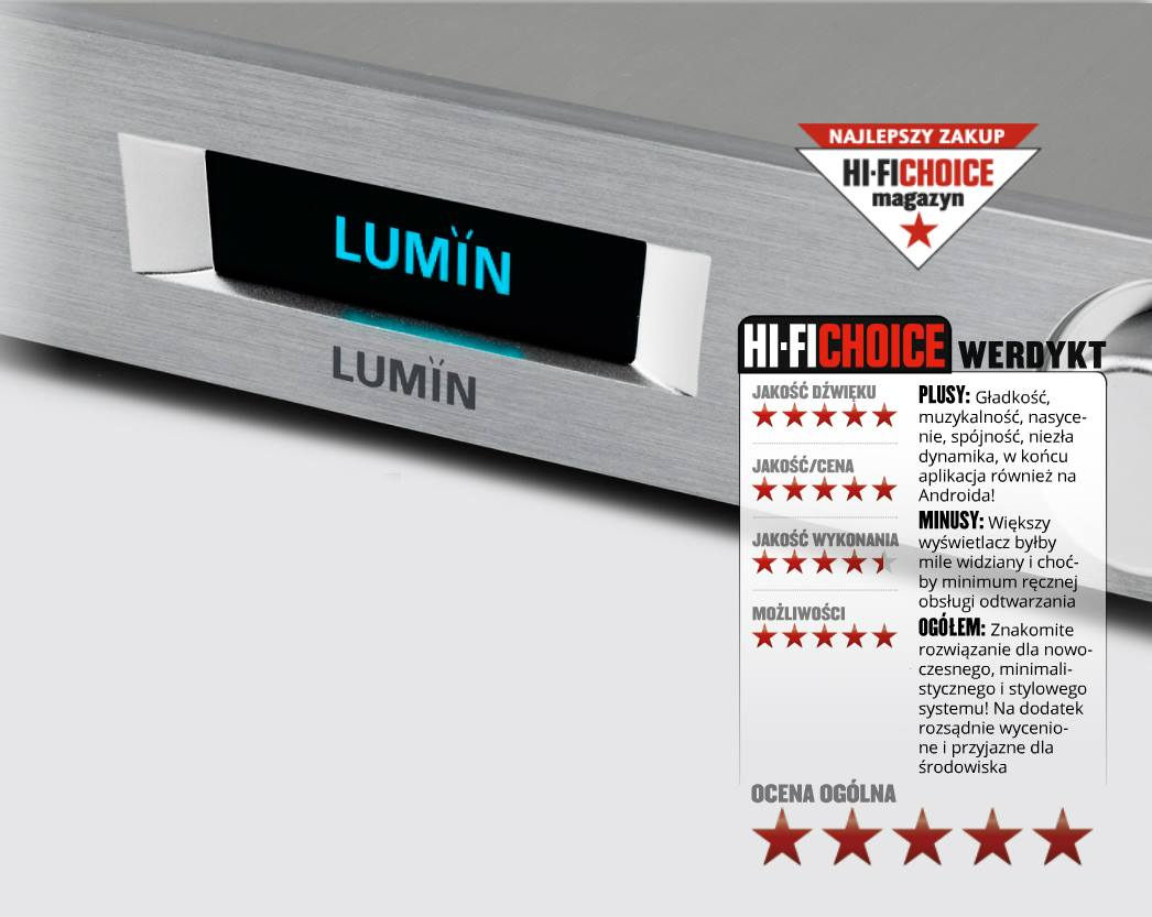 Hi-Fi Choice LUMIN M1 review