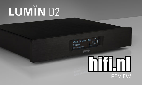 Alpha Audio LUMIN D2 review