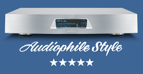 Audiophile Style 5-star review